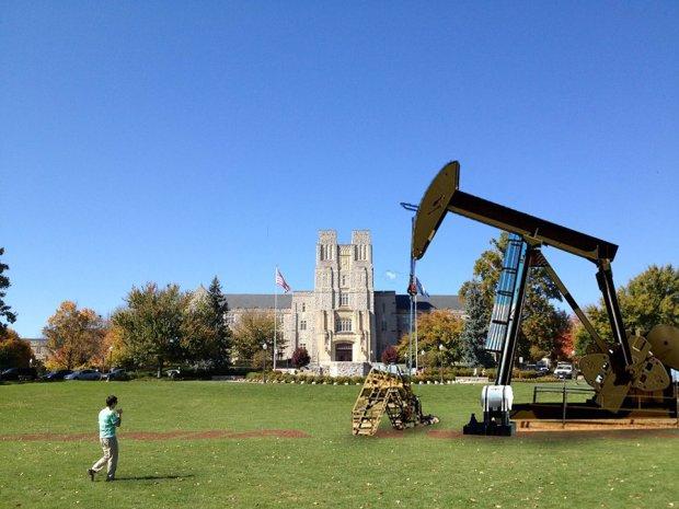 Blacksburg Opens VA Tech For Oil