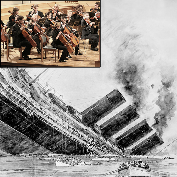 Titanic Band That Played During Her Sinking To Play Trump S Inauguration The Peedmont