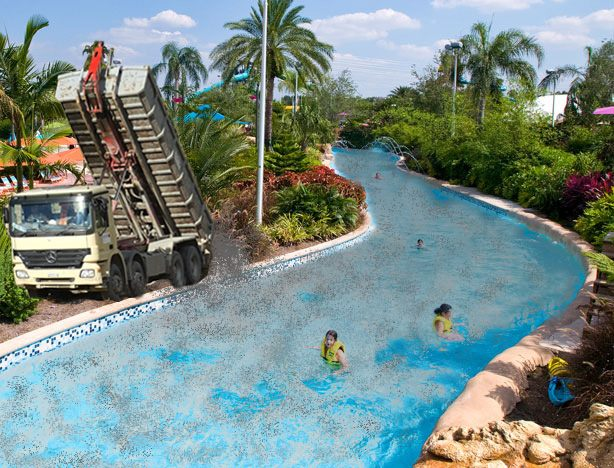 Dominion Buys Water Country Usa Uses Lazy River For Coal