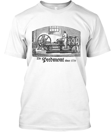 Printing Press (white)