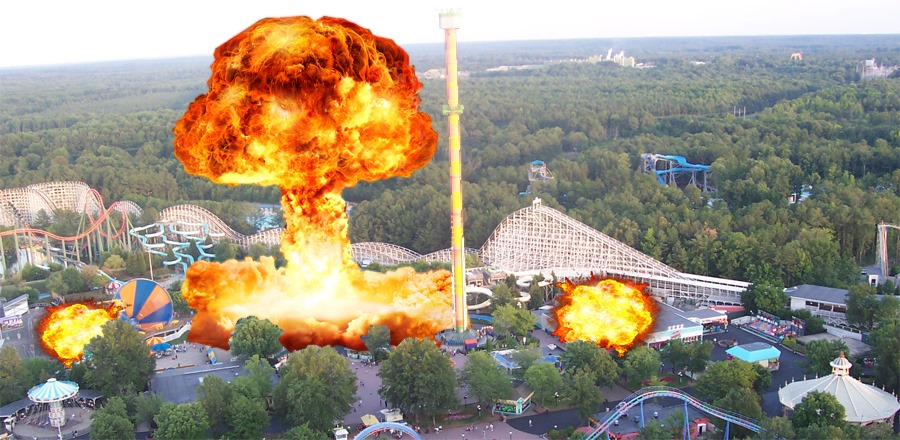 City Accidentally Blows Up Kings Dominion Instead Of Former Dominion Energy Headquarters The Peedmont